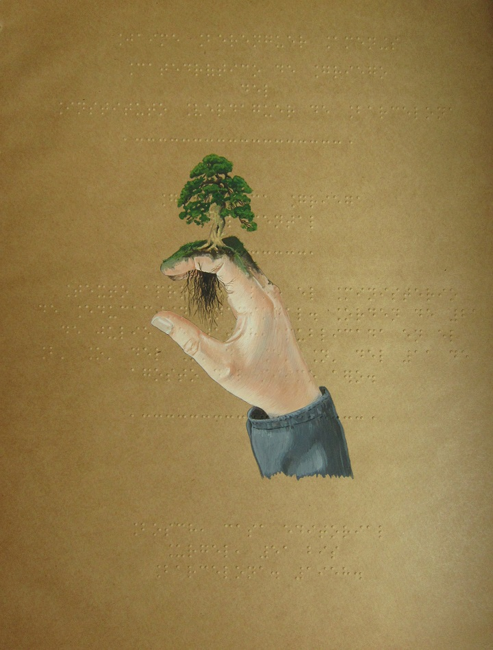 Tamara Feijoo - tree on hand