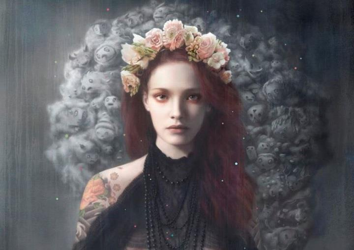 Tom Bagshaw - a digital art