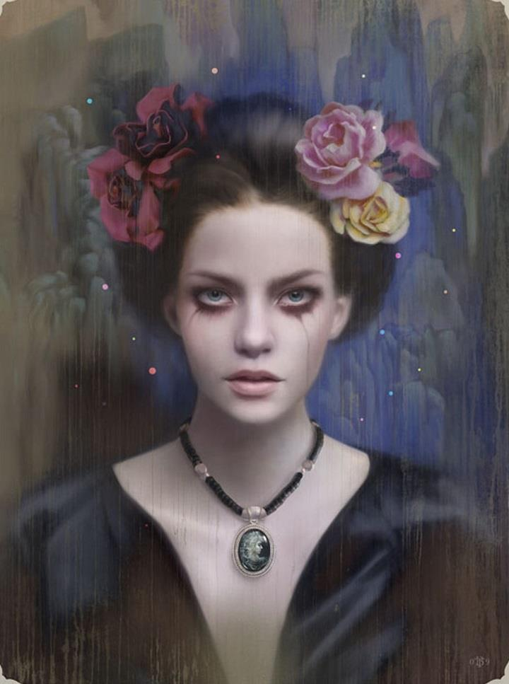 Tom Bagshaw - portrait