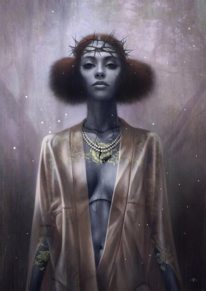 Tom Bagshaw - woman