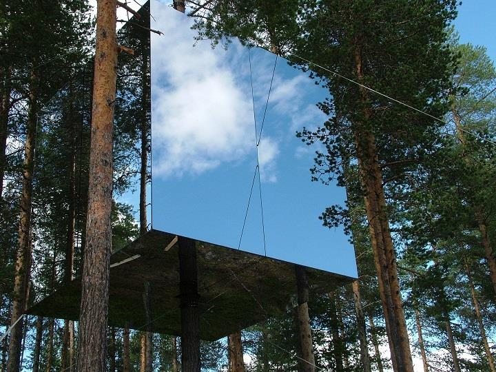 Treehotel - a mirrorcube