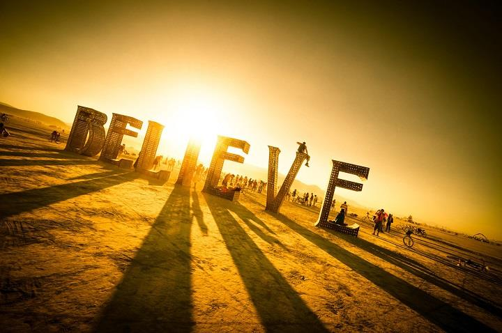 Trey Ratcliff - burning man believe