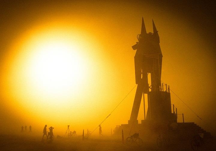 Trey Ratcliff - egypt burning man