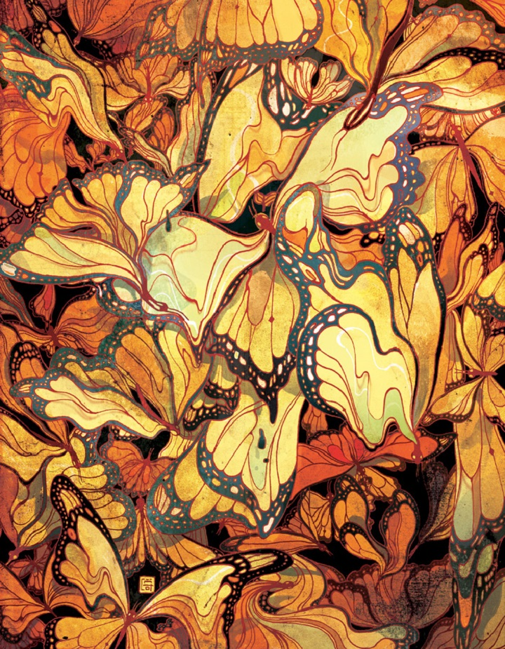 Victo Ngai - butterfly