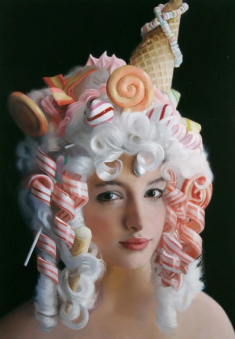 Will Cotton - Icecream Woman 3