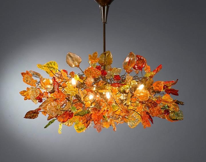 Yehuda Ozan Lighting - chandelier autumnal