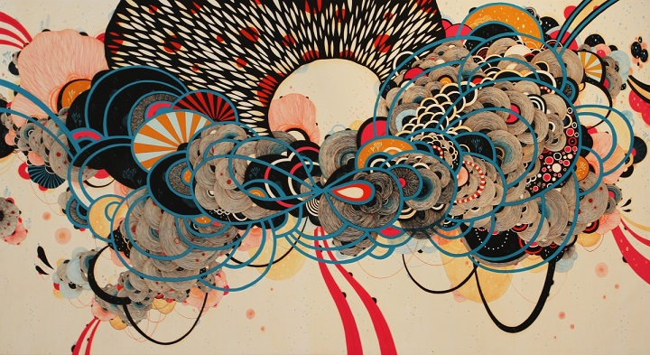 Yellena James - abstract forms